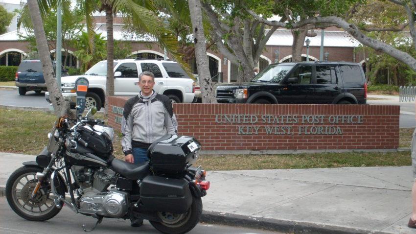 USA Four Corners Journal Day 7. my first corner, Key West.
